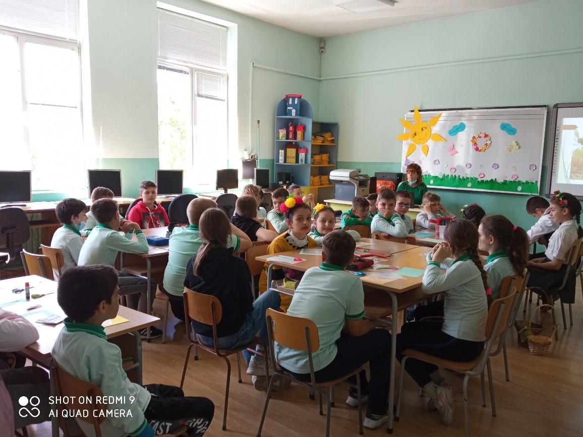 Пролетни празници и обичаи – споделена практика  в Група за целодневна организация на учебния ден 4 клас